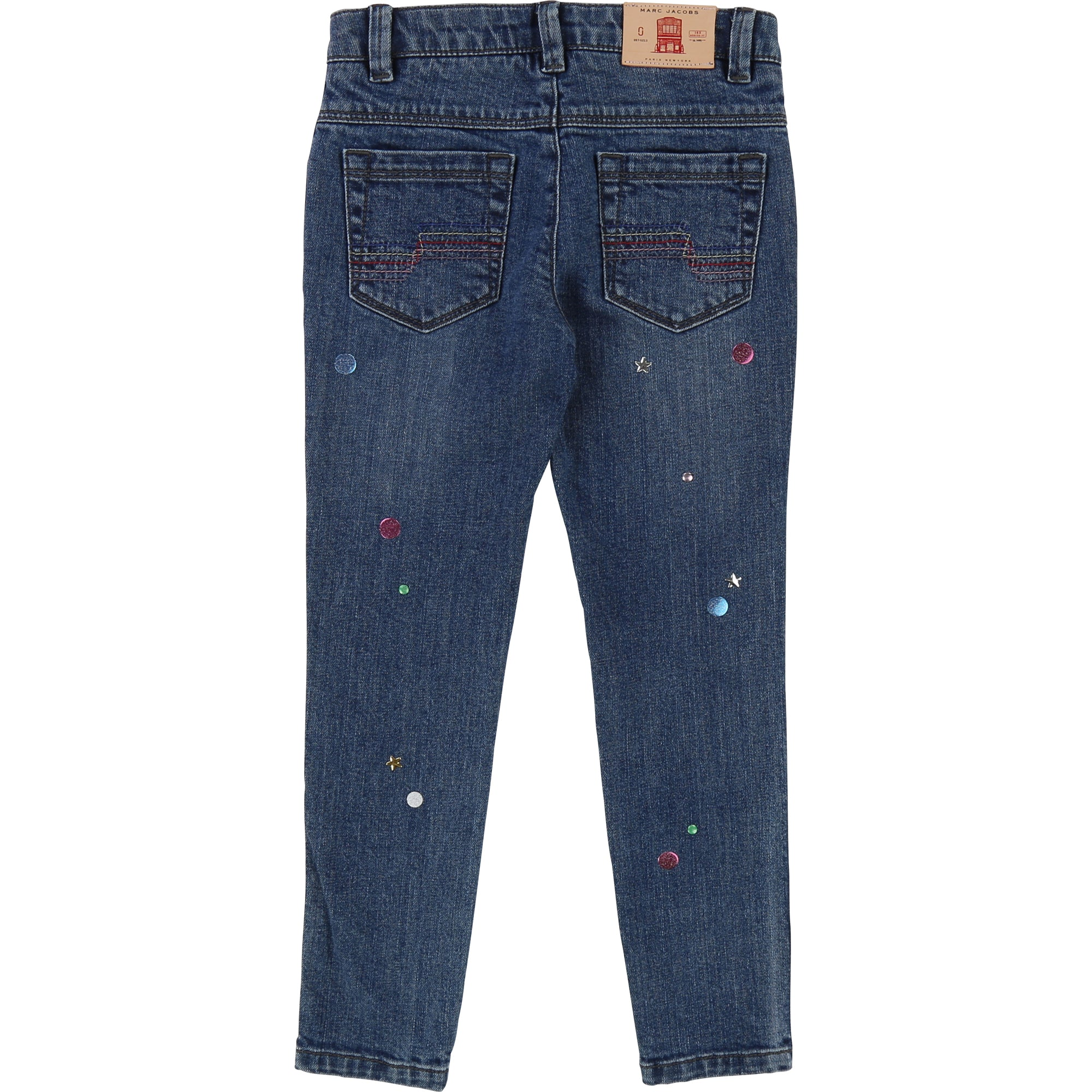 Little Marc Jacobs Girls Pantalon Jeans