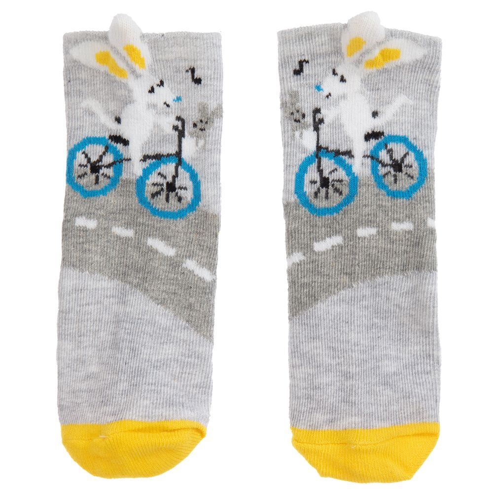 Catimini Graphic City Bunny Socks