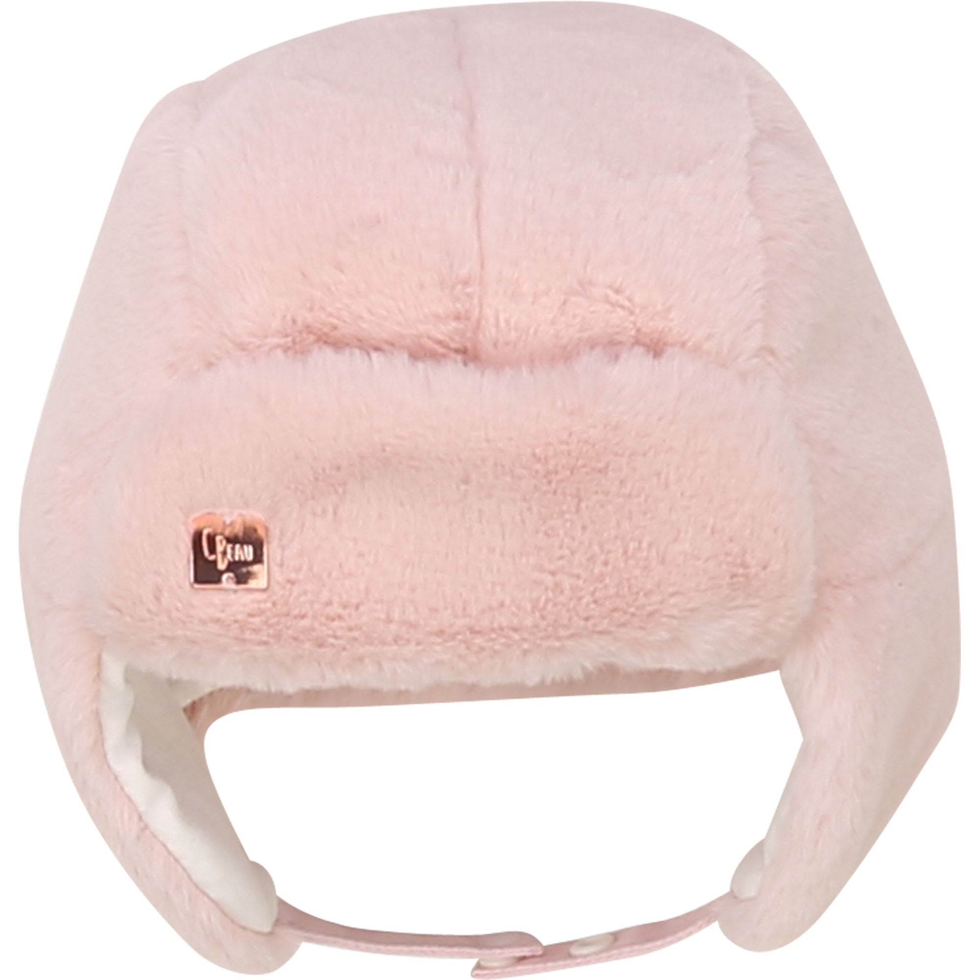 Carrement Beau Pink Baby Hat