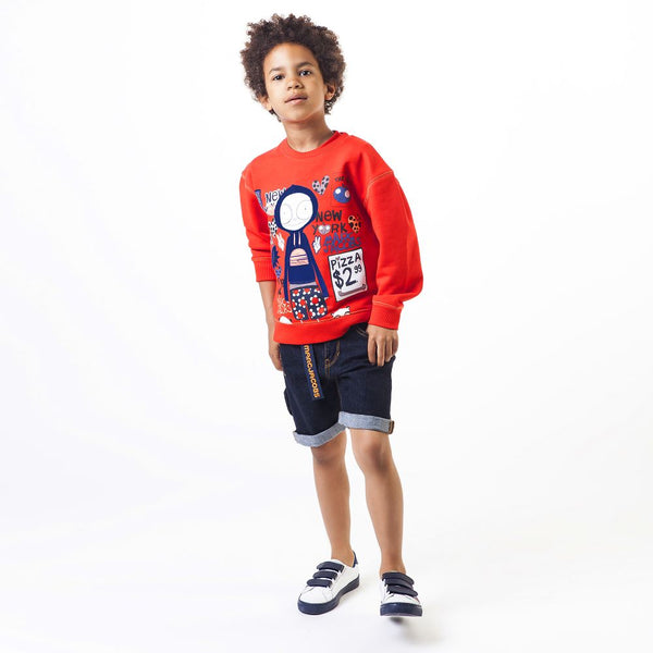 Little Marc Jacobs Boys Denim Shorts