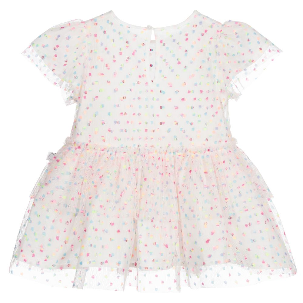 Stella McCartney Baby Girl Embro Dots Tulle Dress