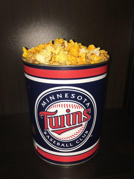Sports & Military 3 Gallon Popcorn Tin