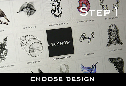 Step 1:  Choose design