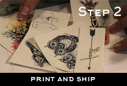 Step 2: Print and Ship