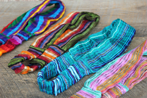 Cotton Headbands, Peru