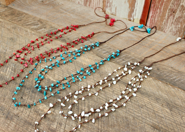 Long Rock Candy Necklaces, Thailand