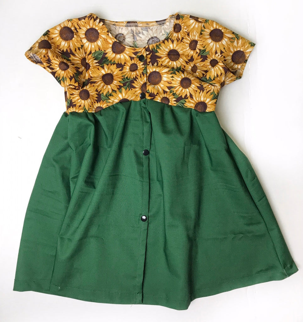 Button Up Dress RTS 4T