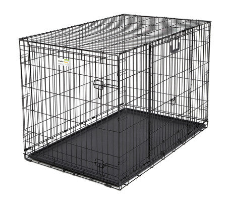 "Bowwowagility Midwest Ovation Double Door Crate 25.50"" x 17.50"" x 19.50"" - 1924DD"
