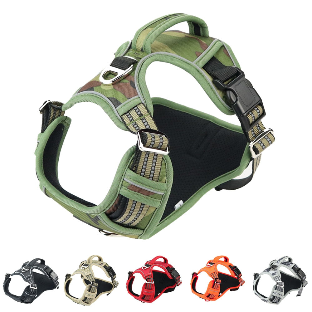 Oxford Reflective Service Harness - BowWowAgility