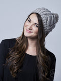Touch of Sparkle Beanie, Grey