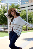 Long Sleeve Knit Crew Neck Sweater