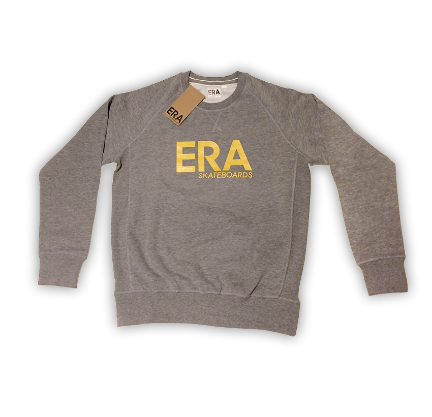 ERA SKATEBOARDS HEATHER SWEAT