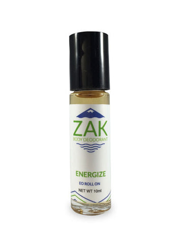Organic Roll-On Deodorant - Men's Energize