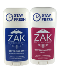 Double Pack Smooth - Elevate/Unscented