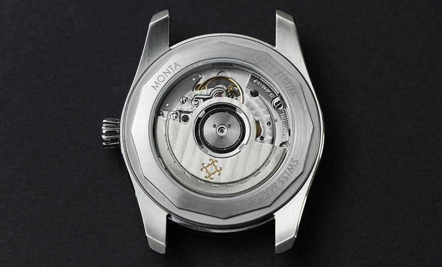 MONTA Caliber M-22 made by Sellita SW300