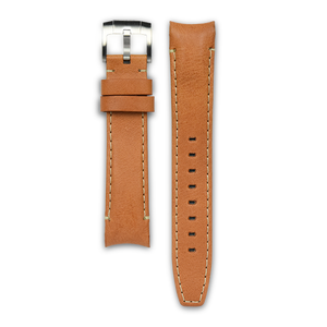MONTA Curved End Leather Strap