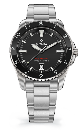 Monta Oceanking, 12-Hour Bezel, With Date