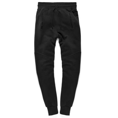 Slim Fit Sweat Pants <br> Pirate Black