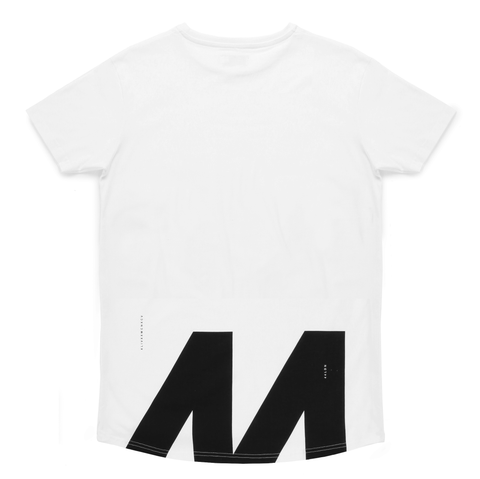 44LDN 'Cut Off' T-Shirt <br> White