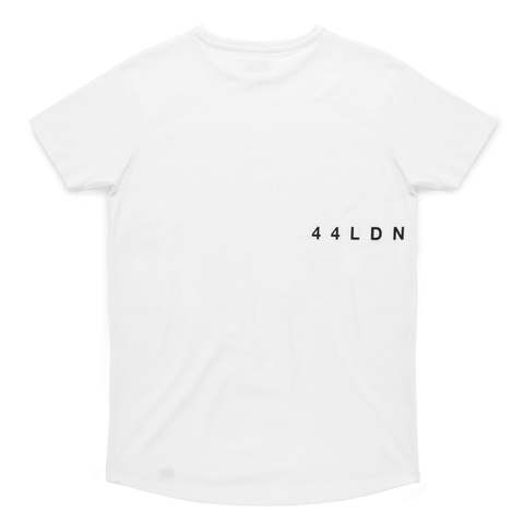 44LDN 'Ticker' T-Shirt <br> White