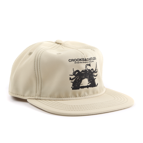Censored Snapback Cap Sand