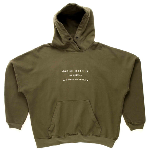 Heavy LA Hooded Sweat