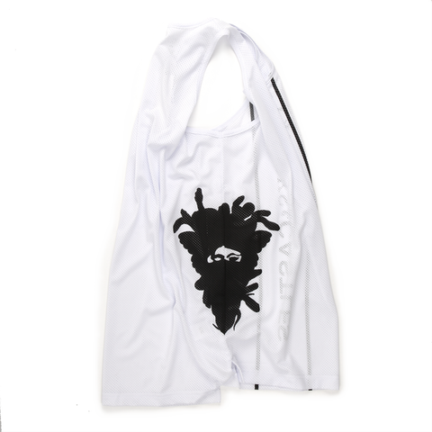 Cryptic Basketball Jersey White
