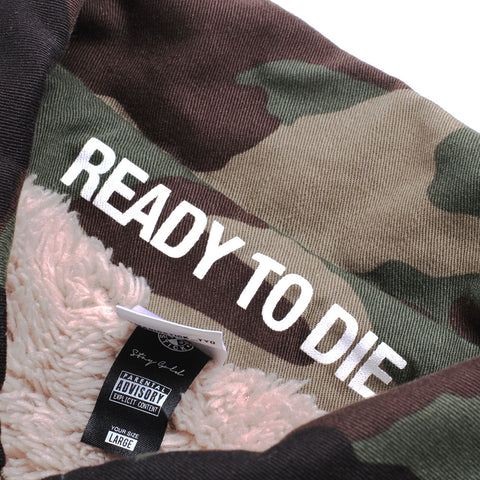 Layered Boa BDU Jacket