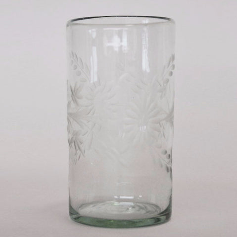 Etched Glass - Highball glass