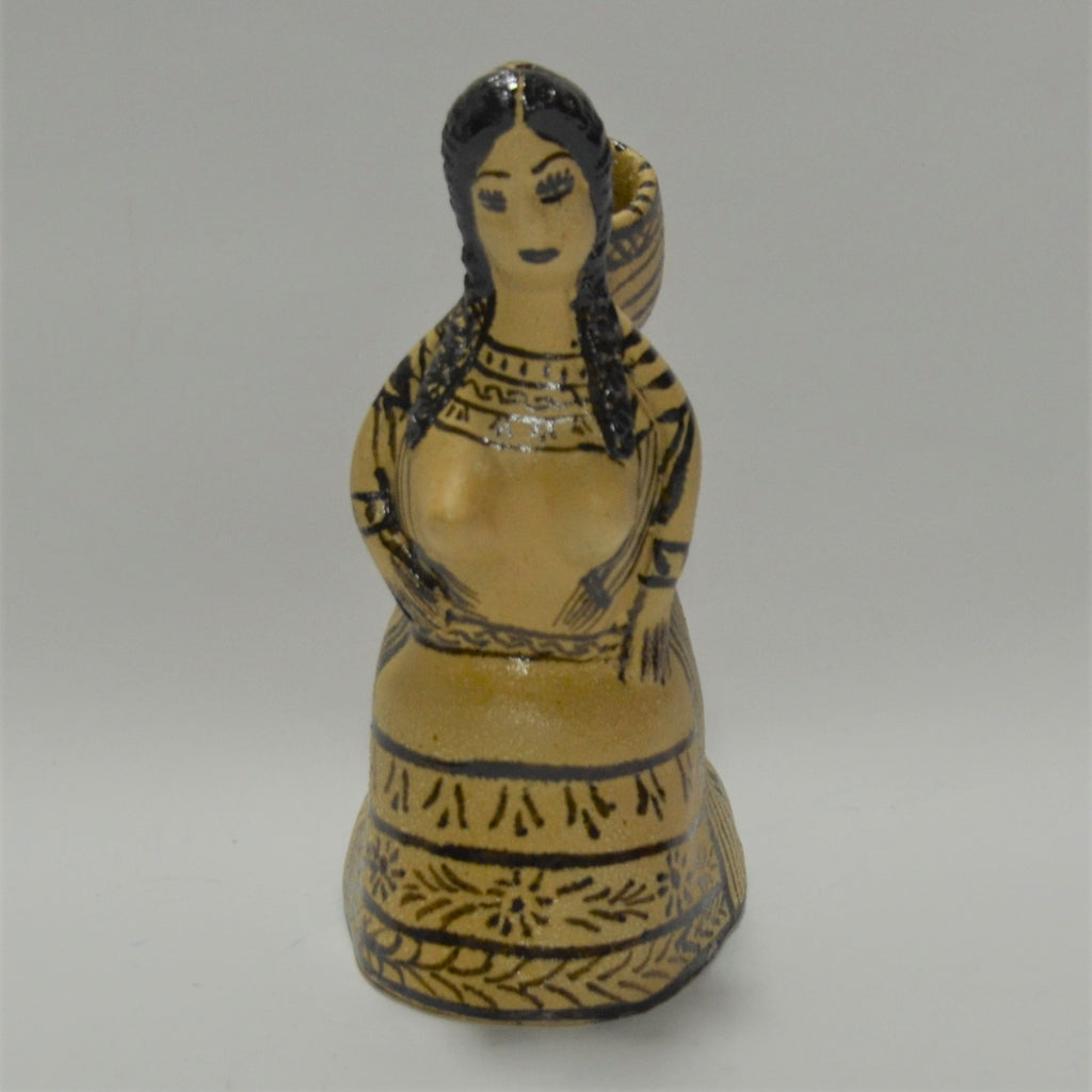 Consuela Rendon - Kneeling Woman Candle Holder