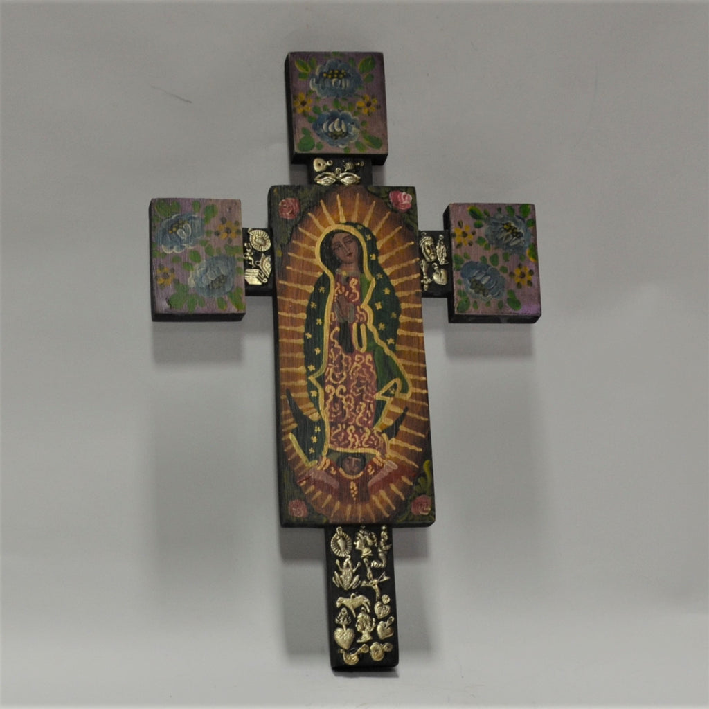 Joaquin Garnica - Cross with Virgin of Guadalupe