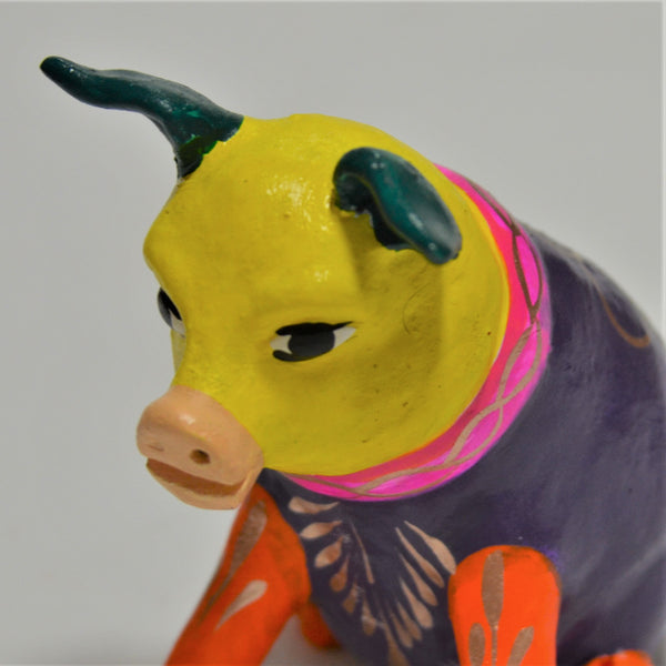 Javier Ramirez - Small Hand Crafted Folk Art Pig