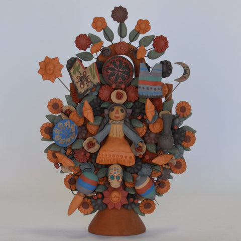 Cecilio Sanchez - Tree of Life with Toys
