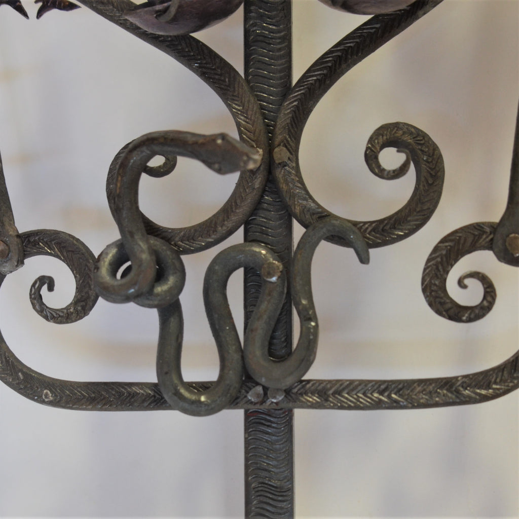 Joaquin Garnica - Colonial Carved Cross in Black