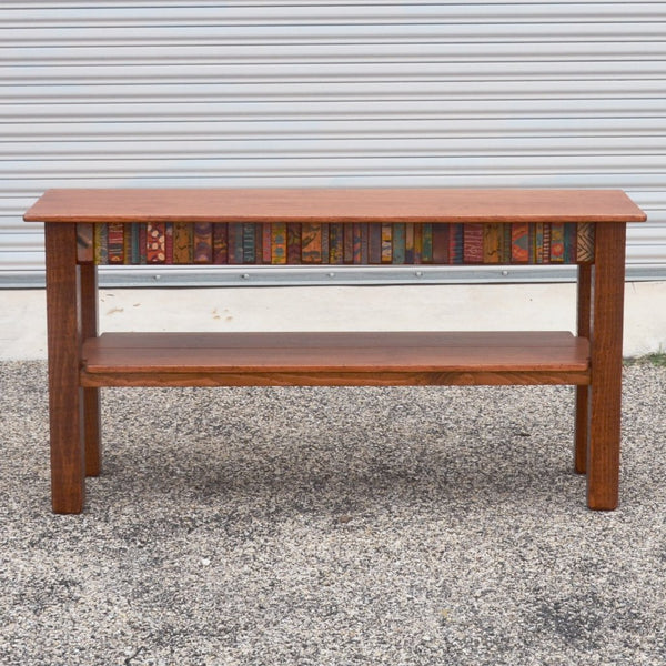 David Marsh - 5' Tesoros Console Table with Shelf