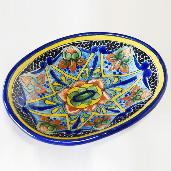 Cayetano Corona - Talavera Vegetable Bowl 3