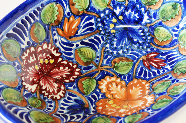 Cayetano Corona - Talavera Vegetable Bowl 5