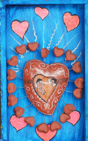 Moises Rodriguez - Mexican Folk Art Box of Love 2