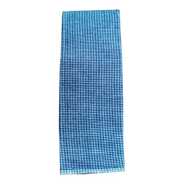 Chambray Houndstooth Tie