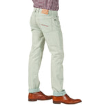 Men's 'Linen' Blue Summer Jeans