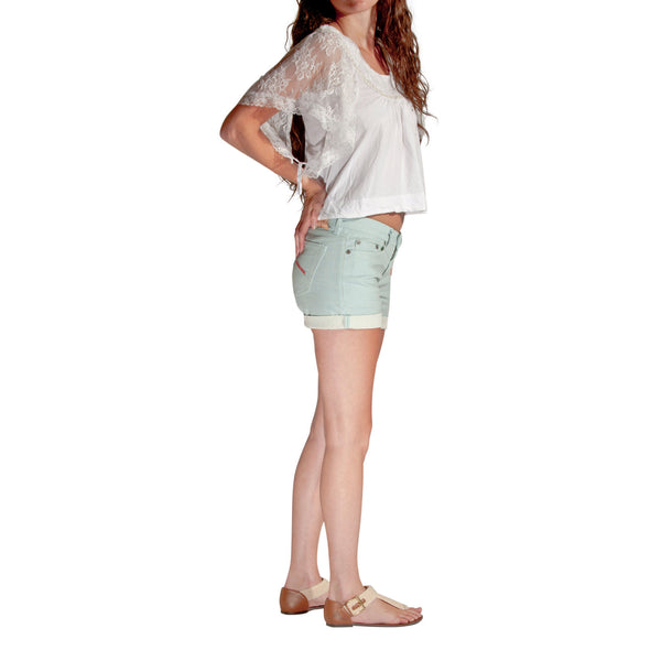 Women's Eco Blue Short