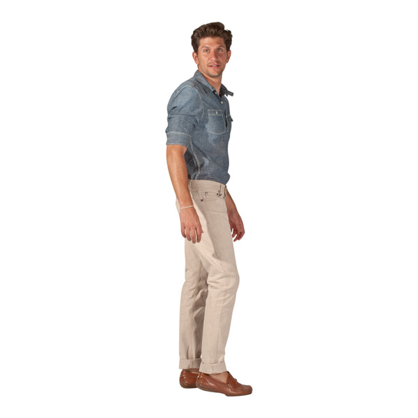 Men's Eco Brown Jeans