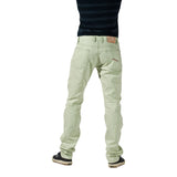 Men's Eco 'Linen' Green Summer Jeans