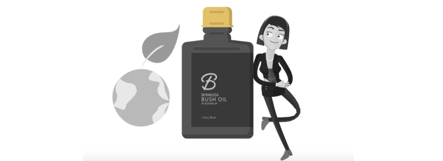 Bushbalm Pubic Hair Oil is all natural