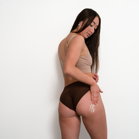 Tush cream smooths out stretch marks
