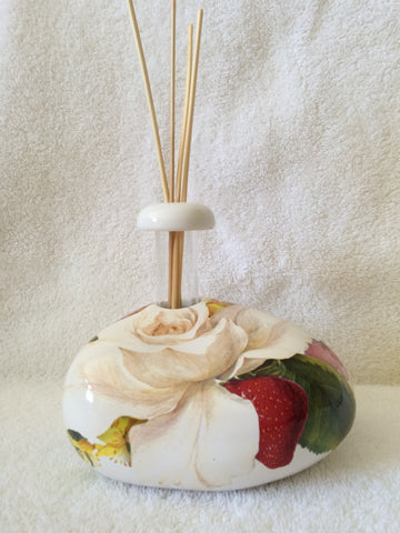 Hand Made Italian Ceramic Stone Shaped Essential Oil Diffuser