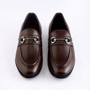 Identity Horsebit Slip-ons - Brown