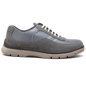 Harper Casual Rugged Shoe - Grey