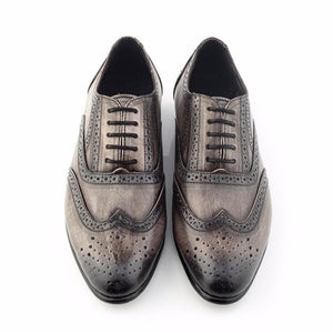 Patina + Art Oxford Lace-Ups - Bronze