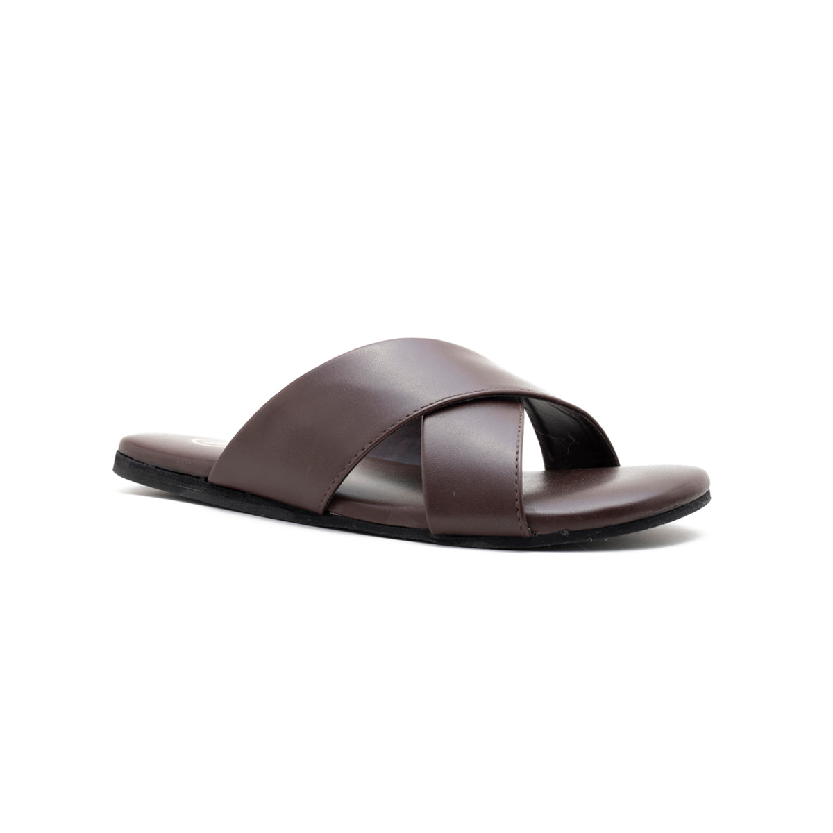 44944ec7ed56d Voss Cross Strap Flipflop - Brown - MONKSTORY